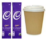 Small thank you gifts UK, gift ideas for her, Cadbury hot chocolate gifts online